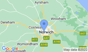 Map of No 51 in Norwich