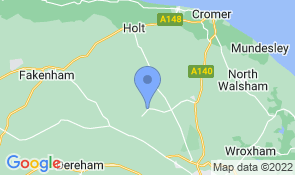 Map of BimbleBox Barn B&B in Reepham