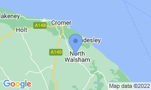 Map of Chimneys in North Walsham