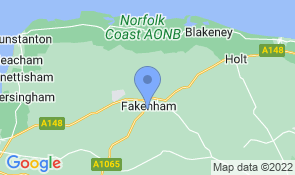 Map of Wensum House in Fakenham