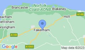 Map of No. 43 in Fakenham