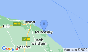 Map of Waddler's Rest in Mundesley