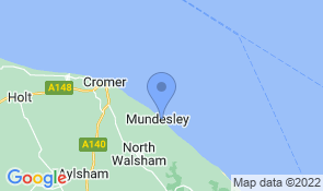 Map of Admiral House  in Mundesley