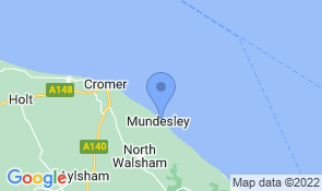 Map of Beach House in Mundesley