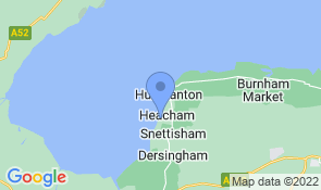 Map of Sunset Beach Retreat in Heacham