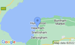 Map of Heacham Haven in Heacham