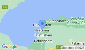 Map of The Retreat Heacham in Heacham