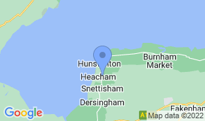 Map of Oakhill in Heacham