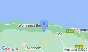 Map of The Hollies in Binham