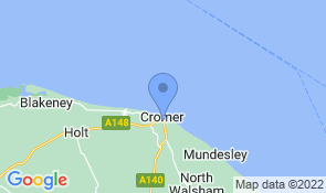 Map of Ogilvy House in Cromer