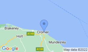 Map of Briar Bank Bed and Breakfast in Cromer