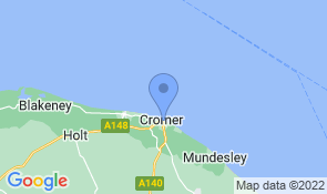 Map of North Cottage Cromer in Cromer