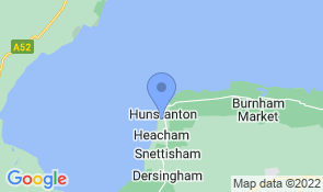 Map of Tiny's Place in Hunstanton