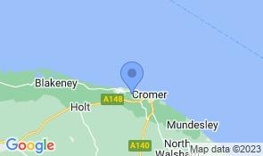 Map of Cornerways in West Runton