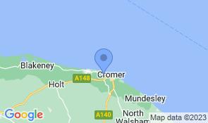 Map of Mill Haven in East Runton