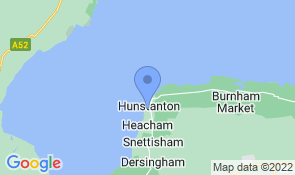 Map of The Town House in Hunstanton