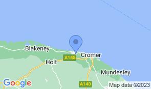 Map of Rosehaven in Sheringham