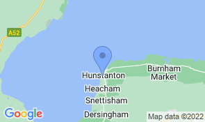 Map of Honeycomb House in Hunstanton