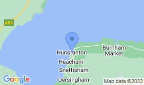 Map of Lynda's in Hunstanton