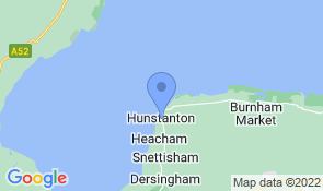 Map of Lynnfield Hall in Hunstanton