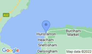 Map of Northernhay in Hunstanton