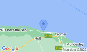 Map of Wayside Cottage in Weybourne