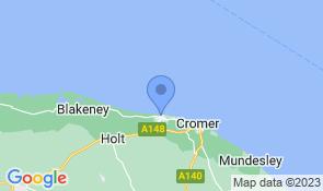 Map of Sea Breeze Sheringham in Sheringham