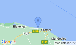 Map of The Fisherman's Shed in Sheringham