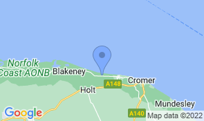 Map of Sea View Lodge in Weybourne