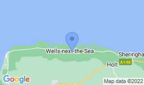 Map of Hunky Dory  in Wells-next-the-Sea