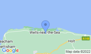 Map of Beech Syde in Wells-next-the-Sea
