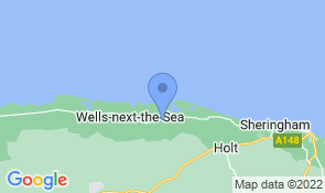 Map of Old Charlie's in Stiffkey