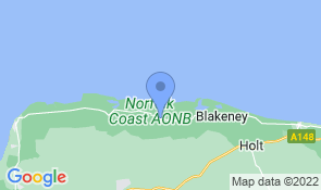 Map of Chinewrde in Wells-next-the-Sea