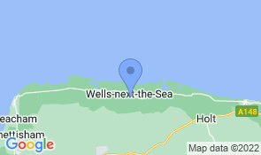Map of Manor Farm Guesthouse in Wells-next-the-Sea