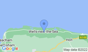 Map of The Mousetrap in Wells-next-the-Sea