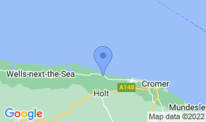 Map of Creek Cottage in Salthouse