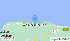 Map of Bluebell Cottage in Wells-next-the-Sea