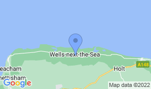 Map of Ingle Pingle Cottage in Wells-next-the-Sea