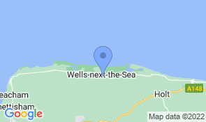 Map of Cobblers Cottage in Wells-next-the-Sea