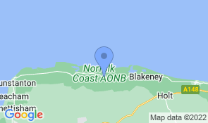Map of Admiral House in Wells-next-the-Sea