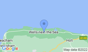 Map of Westward House in Wells-next-the-Sea