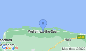 Map of Bexwell in Wells-next-the-Sea