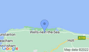 Map of Honeypot Cottage in Wells-next-the-Sea