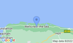 Map of Arch House in Wells-next-the-Sea