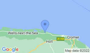 Map of The Studio Bed and Breakfast Cley next the Sea in Cley