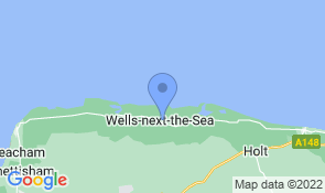 Map of Brent Cottage in Wells-next-the-Sea