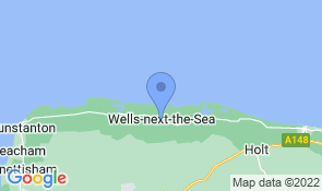 Map of Guillemot Barn in Wells-next-the-Sea