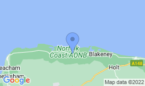 Map of Gooseye in Wells-next-the-Sea