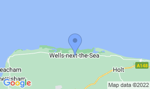 Map of Annies in Wells-next-the-Sea