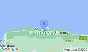 Map of Seashell Cottage in Wells-next-the-Sea